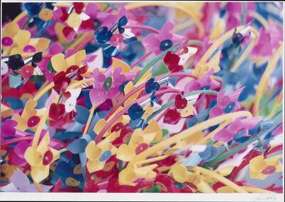 Ernst Haas, 'Pinwheels', 1985