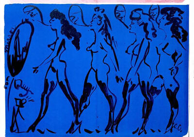 Claes Oldenburg, 'Claes Oldenburg Parade of Women (from One Cent Life)', 1964