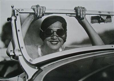 Jacques Henri Lartigue, 'Renee en route Paris-Aix les Bains', 1931