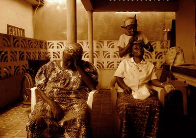 Moridja Kitenge, 'La maison des pauvres 1', ca. 2010