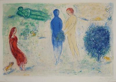 Marc Chagall, 'le jugement de chloé', 1961