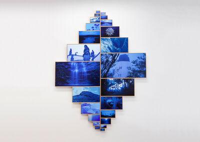João Castilho, 'Montanha mágica', 2019