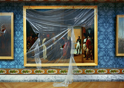 Robert Polidori, 'Napoleon reçoit l'ambassadeur de Perse à Finkenstein, 27 avril 1807, MV 1724, by François-Henri Mulard, 1810. AMI.04.001, Attique du Midi - Attique, Versailles (RP.Vers.EHG10)', 2005