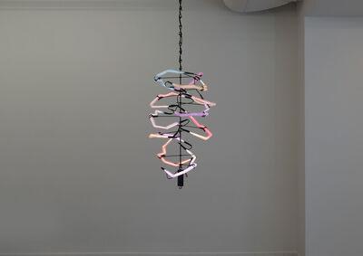 Thaddeus Wolfe, 'Fluorescent Light Structure No. 3', 2016