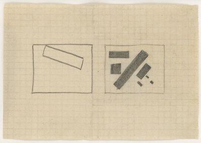 Kasimir Severinovich Malevich, 'Composition 3k', 1915