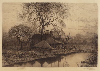 Henry Farrer, 'Untitled (Farmhouse, Long Island)', 1887