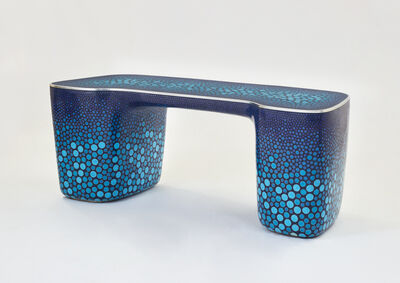 Marc Newson, 'Cloisonné Blue Desk', 2017