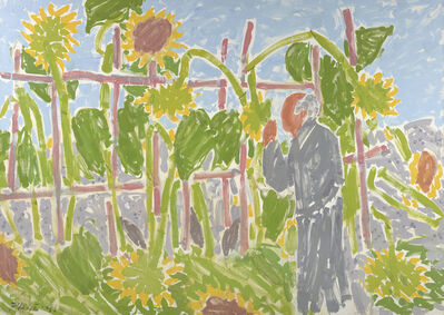 Stephen Pace, 'Sunflowers After Storm ', 1991