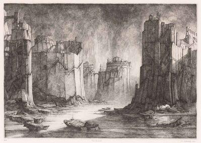 Erik Desmazières, 'TERRES INCONNUES (FITCH 61)', 1981