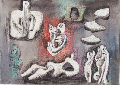Henry Moore, 'Ideas for Sculpture', 1980