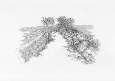 Kathleen Vance, 'Horseneck Brook, site drawing', 2014
