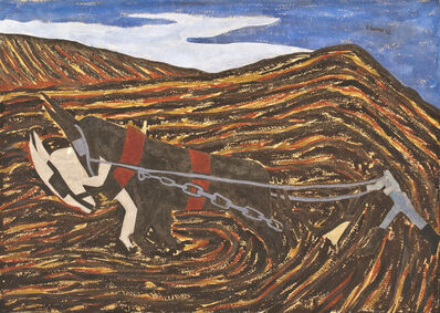 Jacob Lawrence, 'The Plowman', 1942