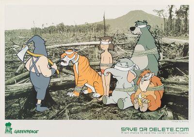 Banksy, 'Save or Delete- Greenpeace Print', 2002