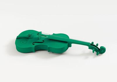 Joseph Beuys, 'Musik als grün', 1974