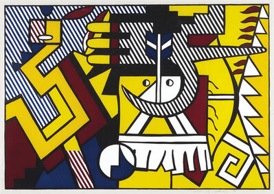 Roy Lichtenstein, 'American Indian Theme VI, from American Indian Theme', 1980