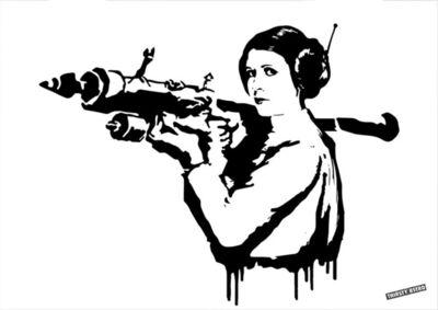 Thirsty Bstrd, 'Princess Leia Bazooka Rocket', 2017