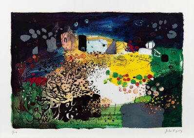 John Piper, 'Welsh Landscape Tretio', 1969