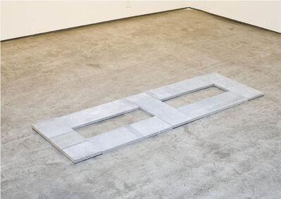 Carl Andre, 'Limestone Dicel', 2009