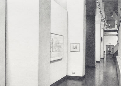 Andrew Grassie, 'ICA - Surfacing: Contemporary Drawing', 1998