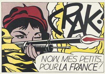 Roy Lichtenstein, 'Crak !', 1963