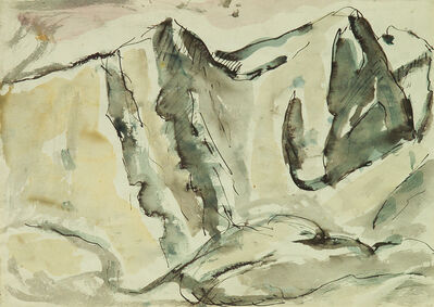 Mario Sironi, 'Mountains', 1947