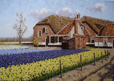 Leo van den Ende, 'Farm at Vogelenzang', ca. 2016