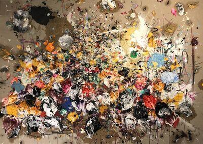 Ismael Lagares, 'OCHER XV', 2017