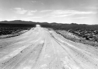 Ingeborg Gerdes, 'Ione to Berlin (unpaved road), Nevada', 1982