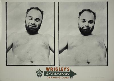 Tomislav Gotovac, 'Wrigley's Spearmint Chewing Gum', 1978