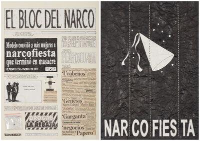Camilo Restrepo, 'El Bloc Del Narco #16', 2016