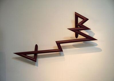 Robert Mangold (b.1930), 'PTTSAAES 9-09b', 2009
