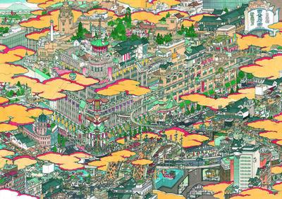 Yamaguchi Akira, 'Department Store: New Nihonbashi Mitsukoshi', 2004