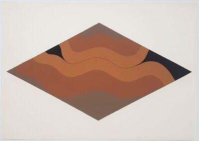 Hannes Grosse, 'Gestural Abstraction (light brown tones)', 1968