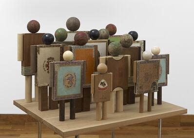 Peter Blake, 'Crowd', 2014