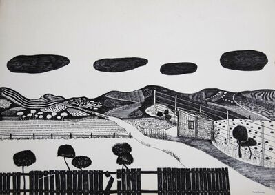 Charles Duranty, 'Black and white landscape II', ca. 1970