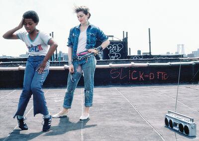 Richard Corman, 'Madonna Rooftop # 2', 1983