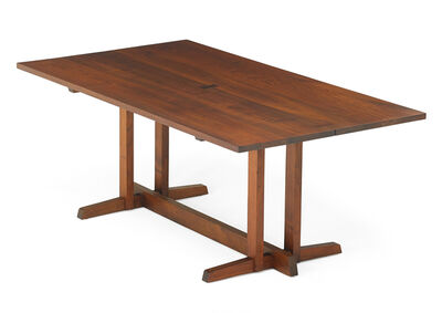 George Nakashima, 'Frenchman's Cove dining table', 1963