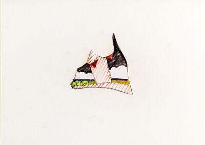 Tom Wesselmann, 'Drop in Seascape Sketch for Kate', 1974