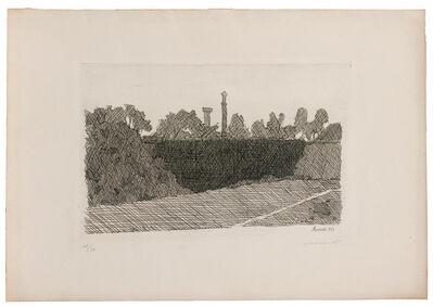 Giorgio Morandi, 'Scenery of Montanola in Bologna', 1932