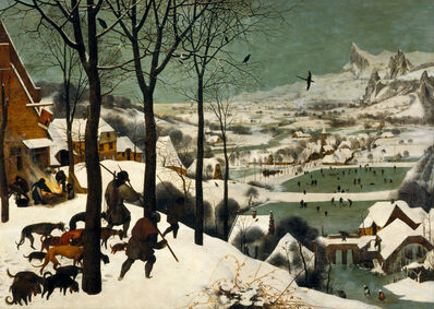 Pieter Bruegel the Elder, 'The Hunters in the Snow', 1565
