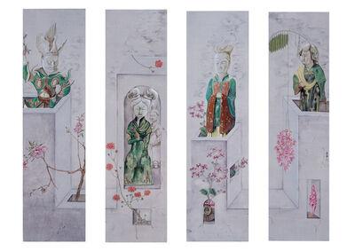 Shi Rongqiang, 'Magic Box, Tang Style no 1, 2, 3 and 4', 2010