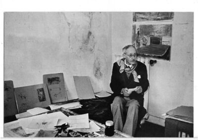 Henri Cartier-Bresson, 'Bonnard', 1944