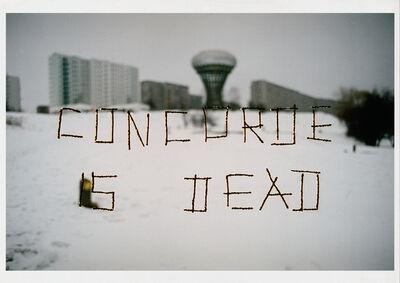 Wilhelm Sasnal, 'Concorde is Dead (for Parkett 70)', 2004