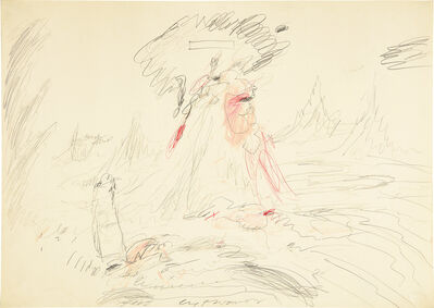 Cy Twombly, 'Untitled', 1962