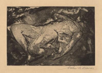 Arthur Bowen Davies, 'Tragic Figure', 1919-1920
