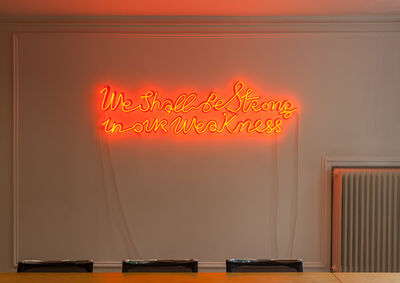 Yael Bartana, 'we shall be strong in our weakness', 2012
