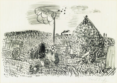 Raoul Dufy, 'Two lithographs.'