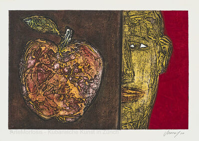 Choco, 'Rostro con lima / Gesicht mit Limette / Face with Lime', 2010