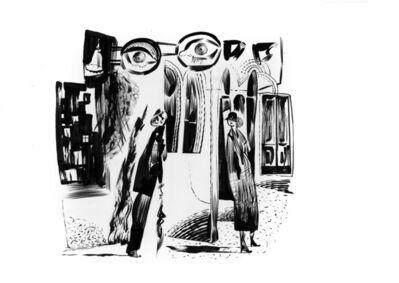 Dave McKean, 'Die Straße (Karl Grune) 1923', 2020