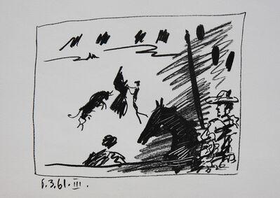 Pablo Picasso, 'Los Toros - Jeu de la Cape (B. 1015) ', 1961